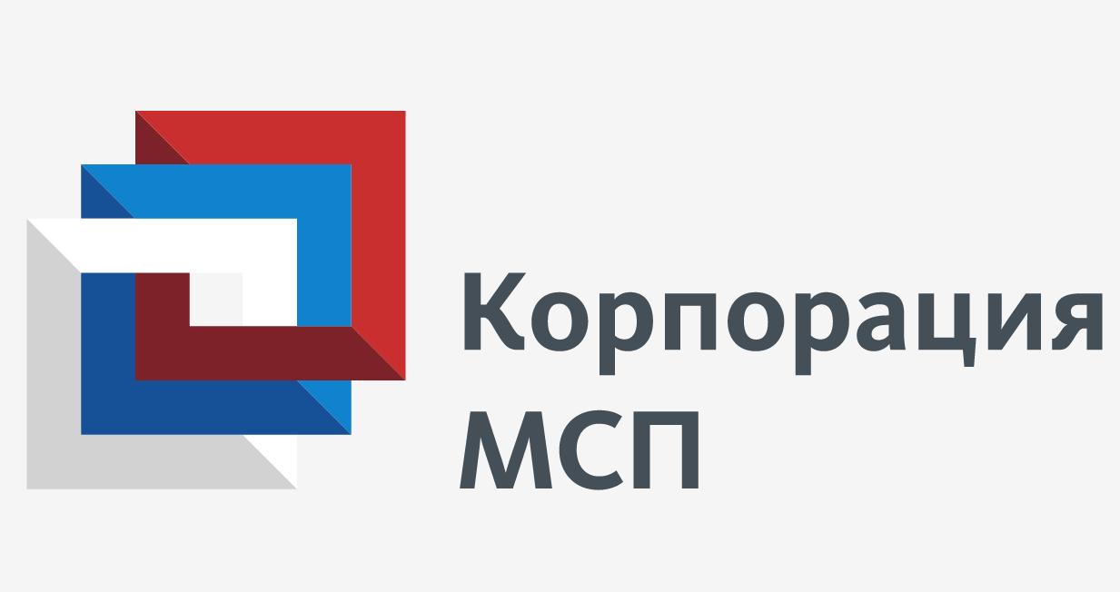 "Логотип АО ""Корпорация МСП"""