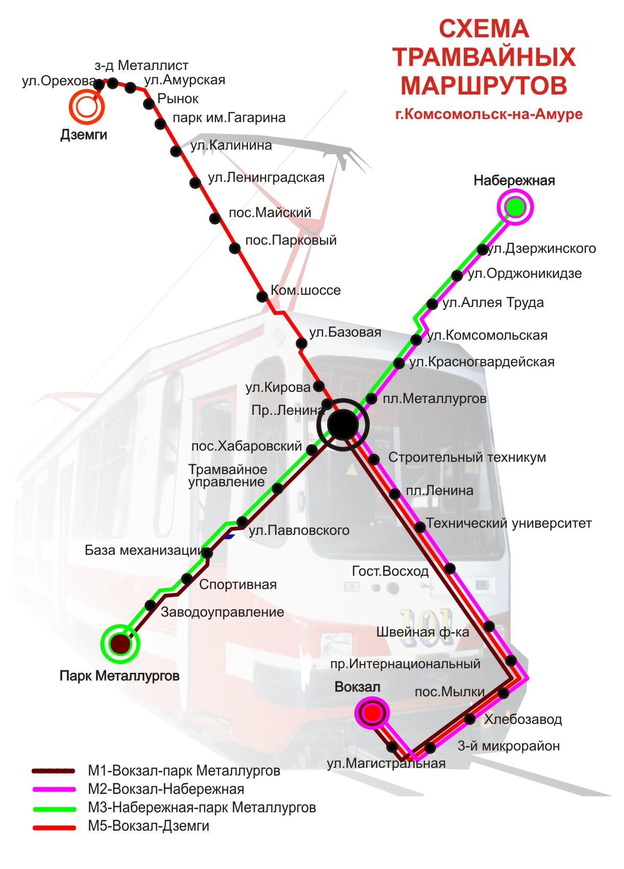 7 автобусный парк схема маршрутов